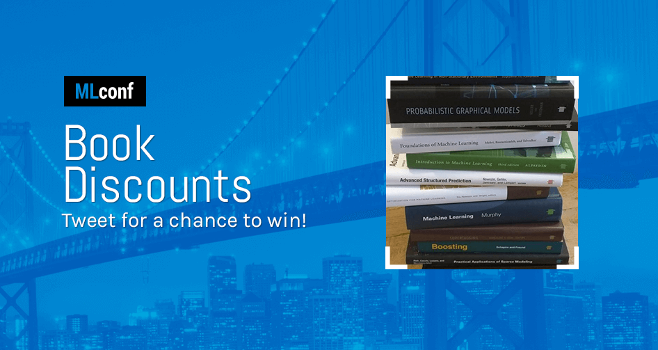 Tweet for a chance to win FREE books at MLconf NYC this Friday